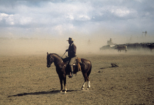 """The Cowboys""John Wayne1972 © 1978 David Sutton - Image 3370_0800"