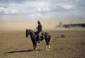 """The Cowboys""John Wayne1972 © 1978 David Sutton - Image 3370_0800"