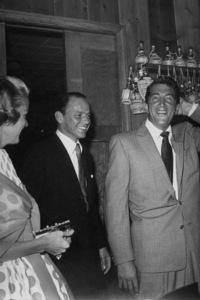 Frank Sinatra and Dean Martin at Sinatra