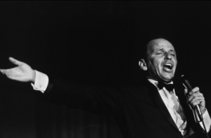 Frank Sinatra performing at the Sands Hotel, Las Vegas, 1964. © 1978 David SuttonMPTV - Image 337_1658