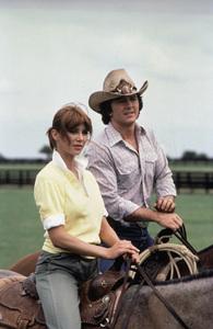 """""""Dallas""""Victoria Principal, Patrick Duffy1983 © 1983 Gene Trindl - Image 3379_0113"""