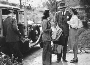 """""""Dark Victory""""Geraldine Fitzgerald, George Brent, Bette Davis1939 / Warner / **R.C. - Image 3385_0022"""