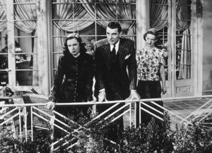 """""""Dark Victory""""Geraldine Fitzgerald, George Brent, Bette Davis.1939 / Warner / **R.C. - Image 3385_0027"""
