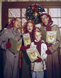 """Dennis the Menace""Jay North, Herbert Anderson, Joseph Kearns, Gloria Henry1960Photo by Gabi Rona - Image 3392_0033"