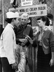 """The Many Loves of Dobie Gillis"" Dwayne Hickman, Sheila James Kuehl circa 1960 Photo by Gabi Rona - Image 3397_0003"
