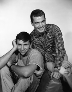 """The Many Loves of Dobie Gillis""Bob Denver, Dwayne Hickman1960Photo by Gabi Rona - Image 3397_0036"
