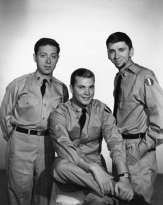 """The Many Loves of Dobie Gillis""Steve Franken, Dwayne Hickman, Bob Denver1960Photo by Gabi Rona - Image 3397_0037"