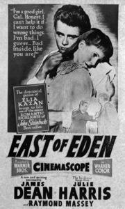 """""""East of Eden"""" (Poster)1955 Warner Brothers** I.V. - Image 3411_0015"""
