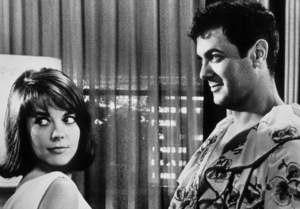 """""""Sex And The Single Girl,""""Natalie Wood & Tony Curtis.1964/Warner Bros.Photo by Sherman Clark - Image 3417_0001"""