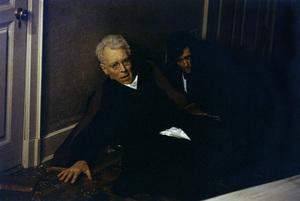 """The Exorcist"" Max von Sydow, Jason Miller 1973 Warner Brothers ** I.V. - Image 3420_0418"