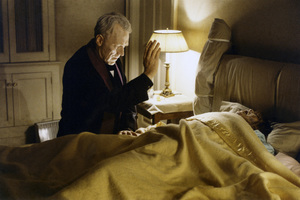 """The Exorcist"" Max von Sydow, Linda Blair 1973 Warner Brothers ** I.V. - Image 3420_0424"