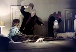 """The Exorcist"" Linda Blair, Max von Sydow 1973 Warner Brothers ** I.V. - Image 3420_0428"