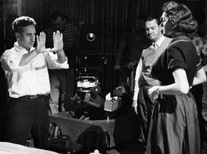 """A Face in the Crowd""Director Elia Kazan, Patricia Neal11-09-1956 © 1978 George E. Joseph - Image 3422_0013"