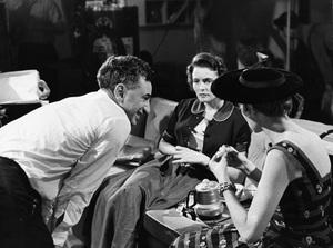 """A Face in the Crowd""Director Elia Kazan, Patricia Neal, Lee Remick11-09-1956 © 1978 George E. Joseph - Image 3422_0015"