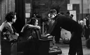 """A Face in the Crowd""Patricia Neal, director Elia Kazan11-15-1956 © 1978 George E. Joseph - Image 3422_0017"
