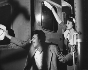 """""""A Face In The Crowd""""Andy Griffith & Patricia Neal1957 Warner Bros.**I.V. - Image 3422_0104"""