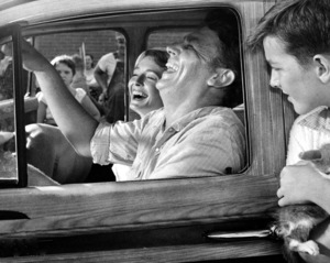 """""""A Face In The Crowd""""Andy Griffith & Patricia Neal1957 Warner Bros.**I.V. - Image 3422_0105"""