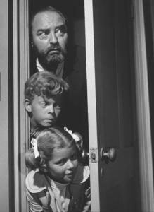 """Family Affair"" Sebastian Cabot, Johnny Whitaker, Anissa Jones 1968 CBS Photo by Wynn Hammer - Image 3423_0009"