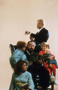 """Family Affair"" Kathy Garver, Johnny Whitaker, Sebastian Cabot, Brian Keith, Anissa Jones Nov. 1967 CBS © 1978 Gene Trindl MPTV - Image 3423_0024"