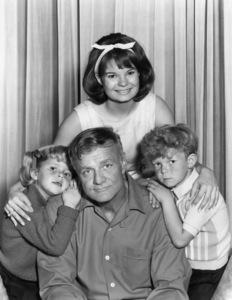 """Family Affair""Anissa Jones, Brian Keith, Johnny Whitaker, Kathy Garvercirca 1967Photo by Gabi Rona - Image 3423_0037"
