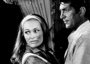 """""""Four For Texas,""""Ursula Andress and Dean Martin1963 / Warner © 1978 Al St. Hilaire - Image 3438_0033"""