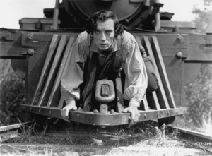 """""""The General""""Buster Keaton1926 UA (Silent)Photo By Byron Houck**I.V. - Image 3446_0003"""