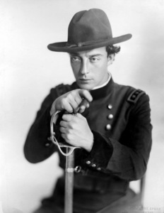 """The General""Buster Keaton1927Photo by Melbourne Spurr**I.V. - Image 3446_0004"