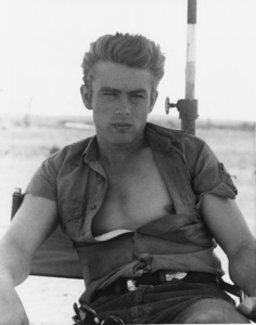 """Giant""James Dean1955 WarnerPhoto by Floyd McCarty**I.V. - Image 3448_0010"