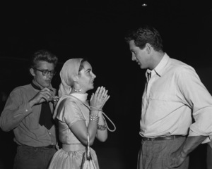 """""""Giant""""James Dean, Elizabeth Taylor, Rock Hudson1955 Warner Brothers** I.V. - Image 3448_0033"""