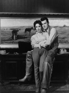 """""""Giant"""" Elizabeth Taylor, Rock Hudson1955 Warner Brothers ** I.V.  - Image 3448_0038"""