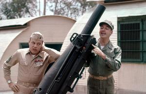 """Gomer Pyle U.S.M.C.""Jim Nabors,Frank Sutton1964Photo By Gabi Rona - Image 3456_0014"