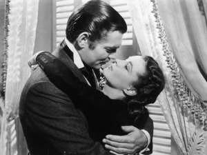 """""""Gone With The Wind,""""Clark Gable with Vivien Leigh.1939 MGM - Image 3457_0028"""