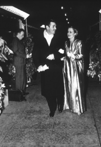 """""""Gone With The Wind"""" Premiere,Clark Gable and Carle Lombard.1939 MGM - Image 3457_0030"""