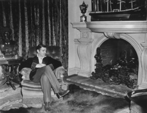 """""""Gone With The Wind,"""" Clark Gable.1939 MGM - Image 3457_0053"""