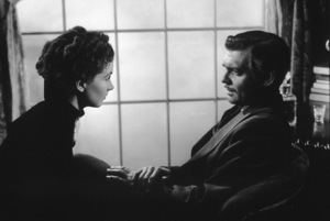 """""""Gone With The Wind"""" Vivien Leigh and Clark Gable 1939 MGM - Image 3457_0215"""