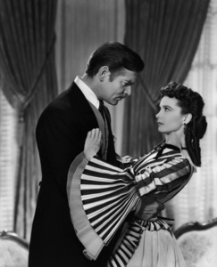 """""""Gone with the Wind""""Clark Gable, Vivien Leigh1939 MGMPhoto by Clarence Sinclair Bull** I.V. - Image 3457_0227"""