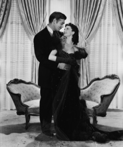 """""""Gone with the Wind""""Clark Gable, Vivien Leigh1939 MGMPhoto by Clarence Sinclair Bull** I.V. - Image 3457_0248"""