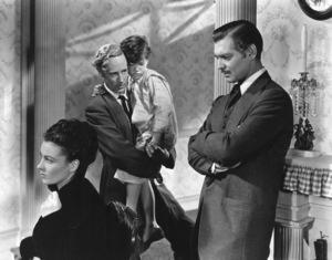 """Gone With The Wind""Vivien Leigh, Clark Gable, Leslie Howard1939 Selznick International**I.V. - Image 3457_0269"