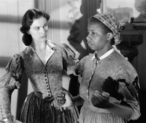"""Gone with the Wind""Vivien Leigh, Butterfly McQueen1939 Selznick**I.V. - Image 3457_0270"