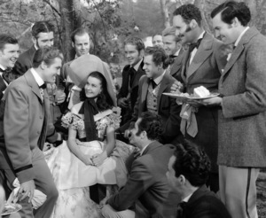"""""""Gone with the Wind""""Vivien Leigh & Suitors1939 Selznick**I.V. - Image 3457_0276"""