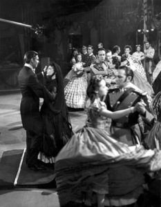 """Clark Gable and Vivien Leigh on the set of """"Gone with the Wind""""1939 MGM** B.D.M. - Image 3457_0285"""