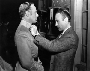 "Leslie Howard and Walter Plunkett on the set of ""Gone with the Wind""1939 MGM** B.D.M. - Image 3457_0293"