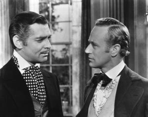 """Gone With The Wind""Clark Gable, Leslie Howard1939 Selznick International**I.V. - Image 3457_0628"