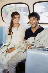 """The Graduate""Katharine Ross, Dustin Hoffman1967© 1978 Bob Willoughby - Image 3461_0012"