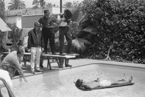 """The Graduate"" Dustin Hoffman, director Mike Nichols 1967 United Artists** I.V. - Image 3461_0314b"