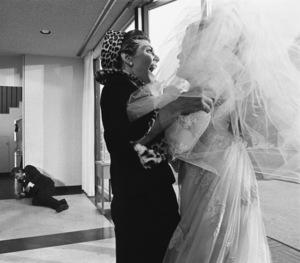 """The Graduate""Murray Hamilton, Anne Bancroft, Katharine Ross1967 United Artists © 1978 Bob Willoughby - Image 3461_0332"