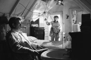 """The Graduate""Murray Hamilton, Dustin Hoffman1967© 1978 Bob Willoughby - Image 3461_0335"