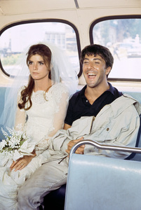"""The Graduate""Katharine Ross, Dustin Hoffman1967© 1978 Bob Willoughby - Image 3461_0372"