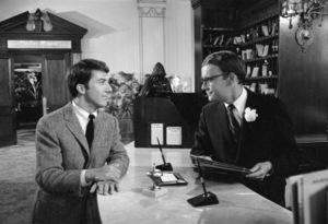 """The Graduate""Dustin Hoffman, Buck Henry1967** I.V. - Image 3461_0773"