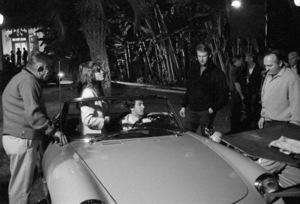 """The Graduate""Katharine Ross, Dustin Hoffman, director Mike Nichols1967** I.V. - Image 3461_0801"